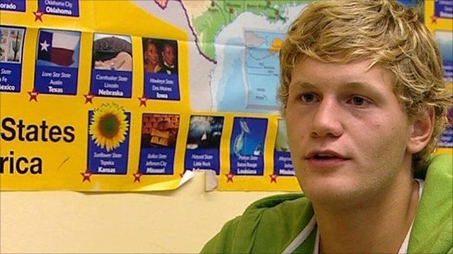 Student Christian Barz