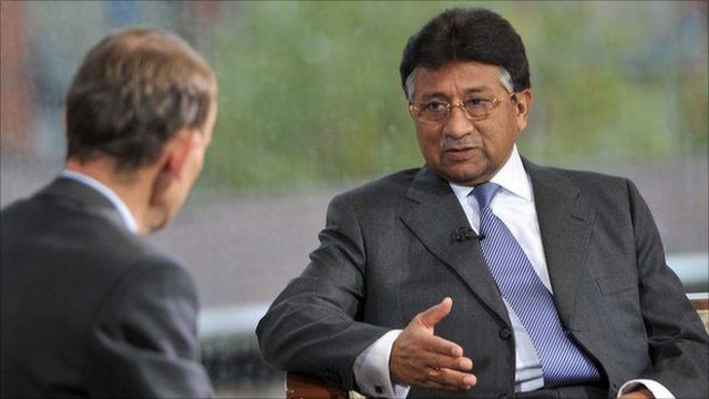 Pervez Musharraf on the Andrew Marr Show