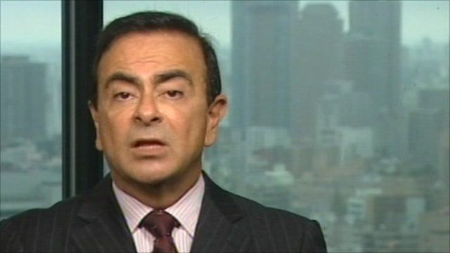 Carlos Ghosn, Chief Executive of Nissan