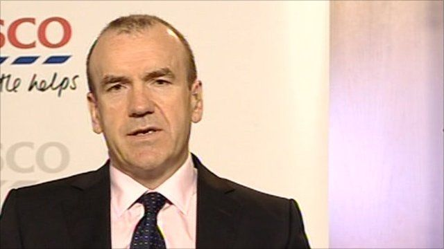 Sir Terry Leahy, Chief Executive, Tesco