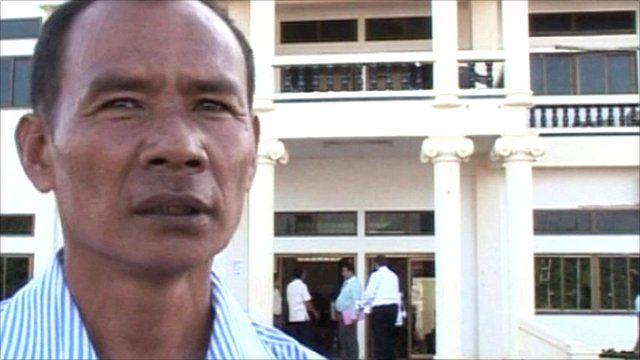 Former Khmer Rouge cadre Khin Pon