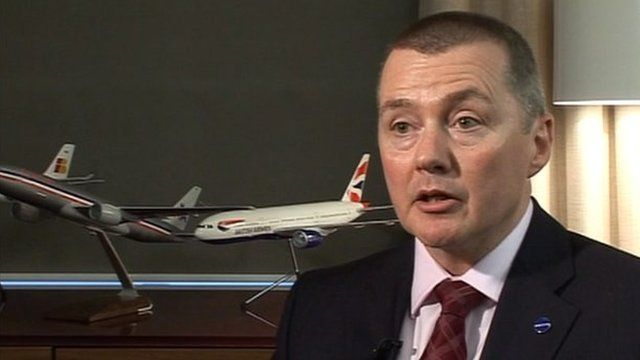 Willie Walsh, Chief Executive, British Airways