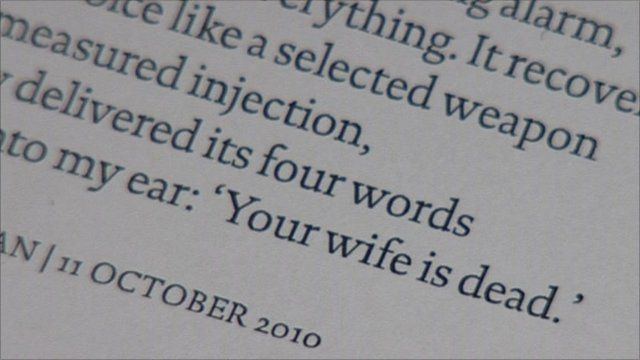 Melvyn Bragg reads from Ted Hughes's poem Last Letter   BBC News