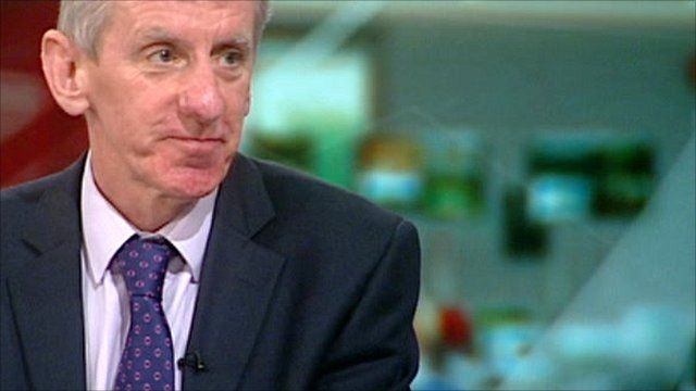 Chief executive of NICE, Sir Andrew Dillon
