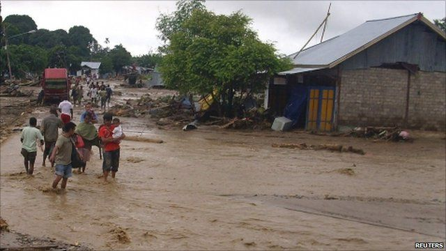 Flooding in Indonesia