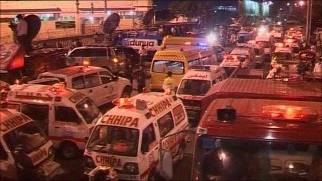 Emergency services in Karachi