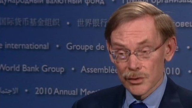 Robert Zoellick, World Bank Chief