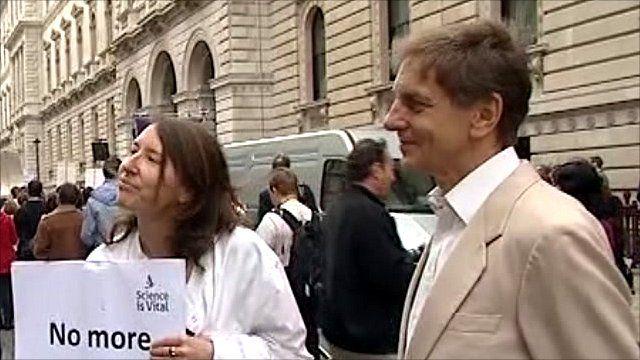 Dr Jennifer Rohn and Professor Colin Blakemore