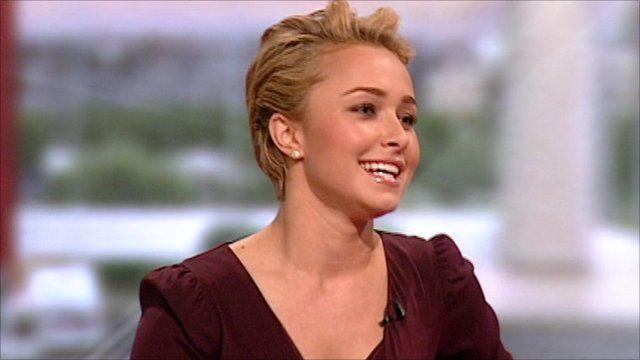 Hayden Panetierre on BBC Breakfast