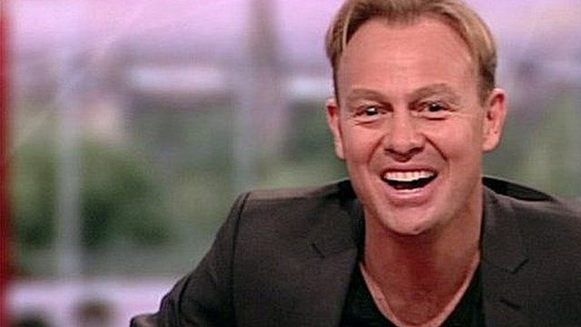 Jason Donovan on BBC Breakfast