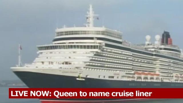Cruise liner Queen Elizabeth III