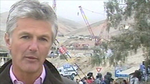 The BBC's Tim Willcox in Chile