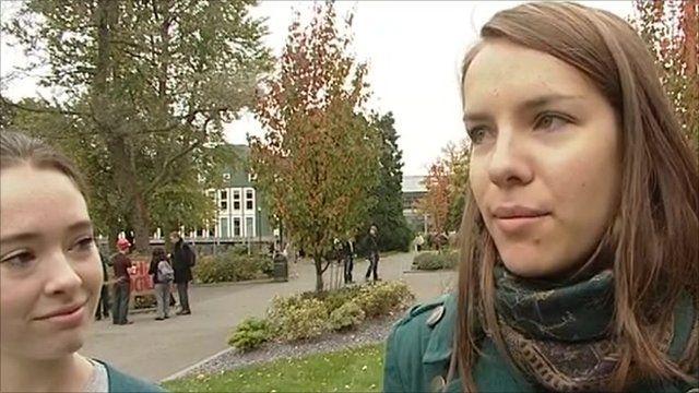 University of Birmingham students