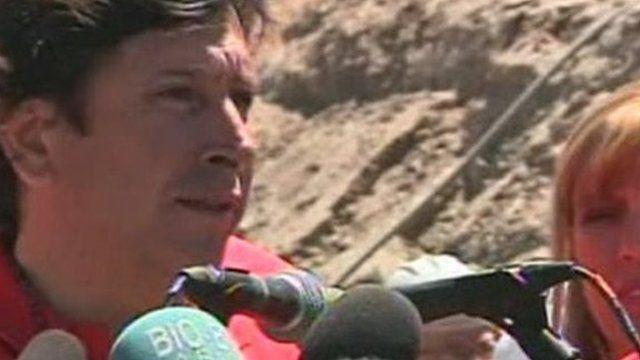 Chile Mining Minister Laurence Golborne