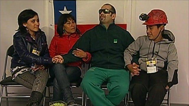 Mario Sepulveda with his family