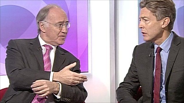 Lord Howard and Ben Bradshaw