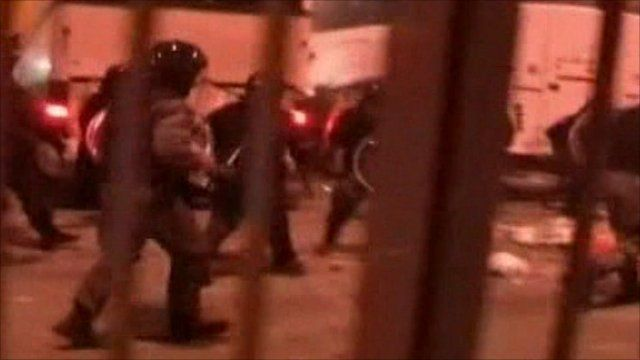 Italian riot police