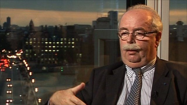 Christophe de Margerie, chief executive, Total