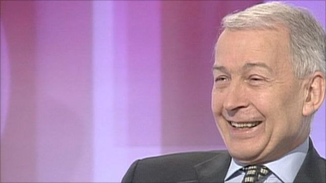 Frank Field laughing