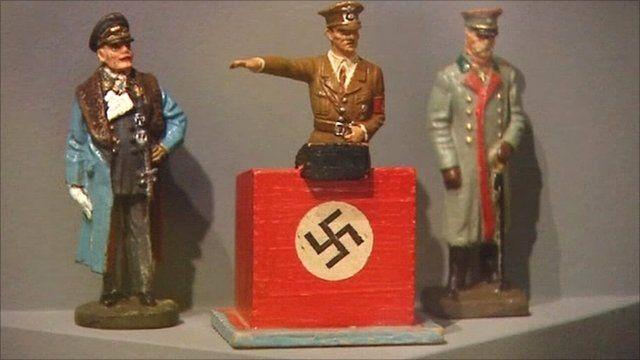 Hitler figurine