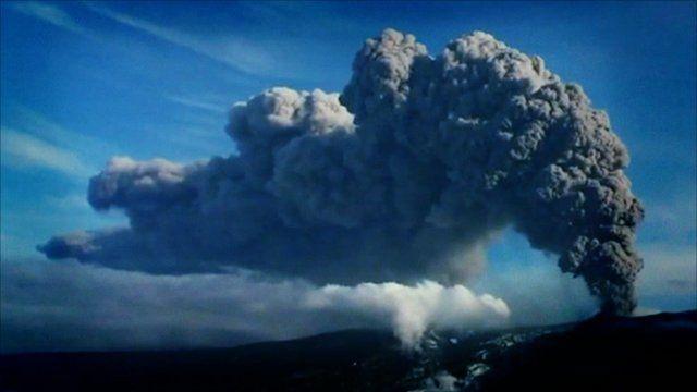 Archive of ash cloud
