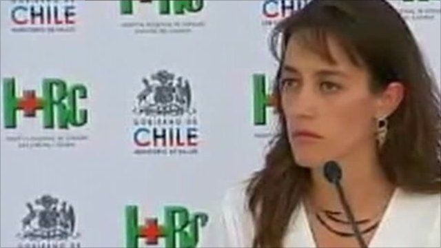 Dr Paola Neumann, Health Director of the Atacama Region