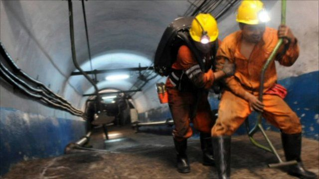 China mine rescuers