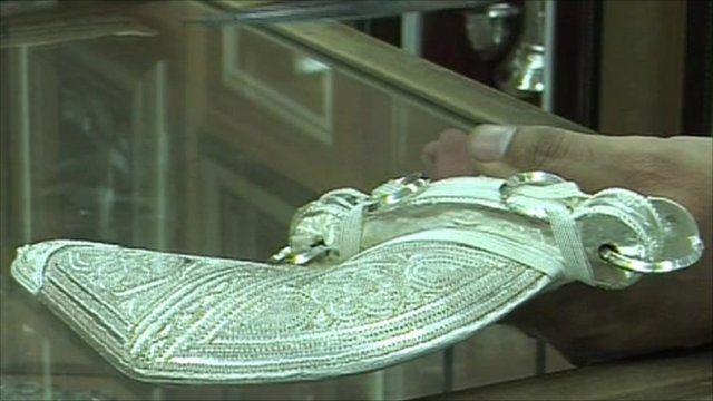 The Khanjar dagger
