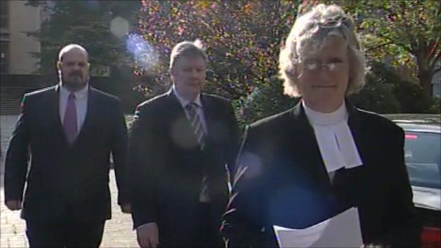 Ann Redrop from the Crown Prosecution Service (right)