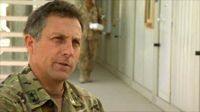 Maj Gen Nick Carter, Commander of British Forces in Southern Afghanistan