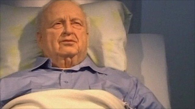 Statue of Ariel Sharon