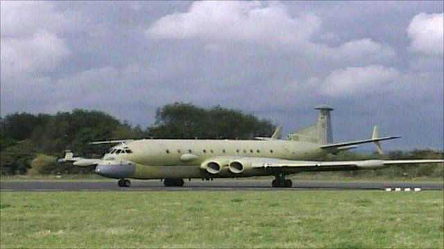 The Nimrod MRA4, an order for which has been cancelled