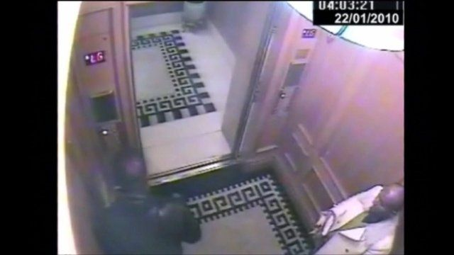 CCTV footage of the prince assaulting his servant was shown at the Old Bailey