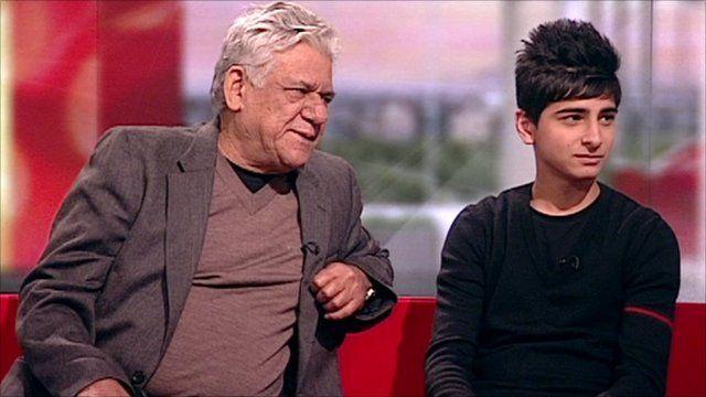 West is West stars speak to BBC Breakfast