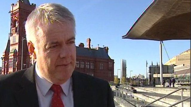 First Minister for Wales Carwyn Jones