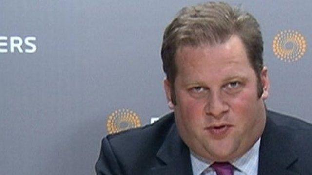 Peter Thal Larsen, assistant editor of Reuters financial website breakingviews.