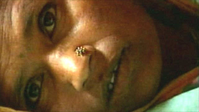 Close up of Indian woman's face