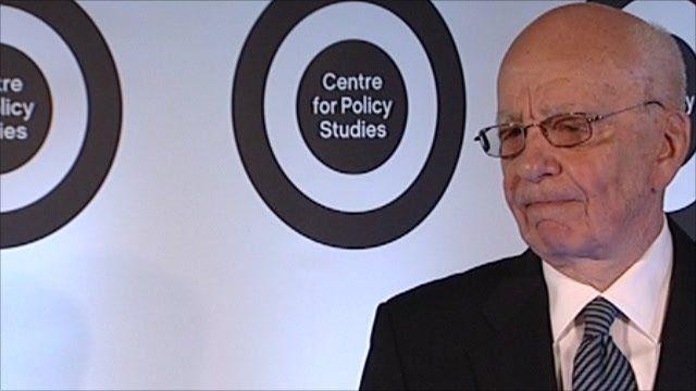 Media boss Rupert Murdoch