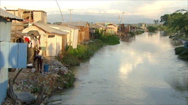 Port-au-Prince camp