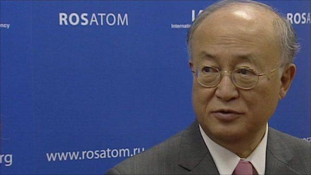 International Atomic Energy Agency's director general Yukiya Amano