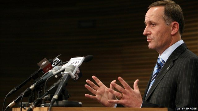 New Zealand PM, John Key