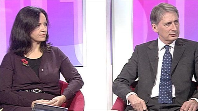 Caroline Flint and Philip Hammond