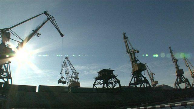 Port of Perm