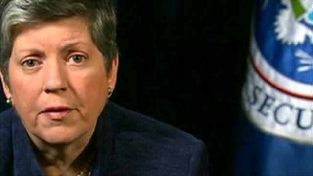 US Homeland Security Secretary, Janet Napolitano