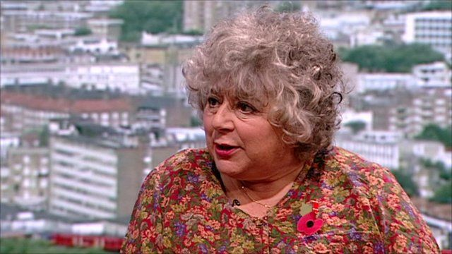 Miriam Margolyes on the Andrew Marr Show