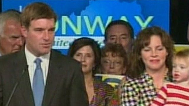 Jack Conway with his family