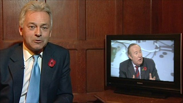 Alan Duncan and Andrew Neil