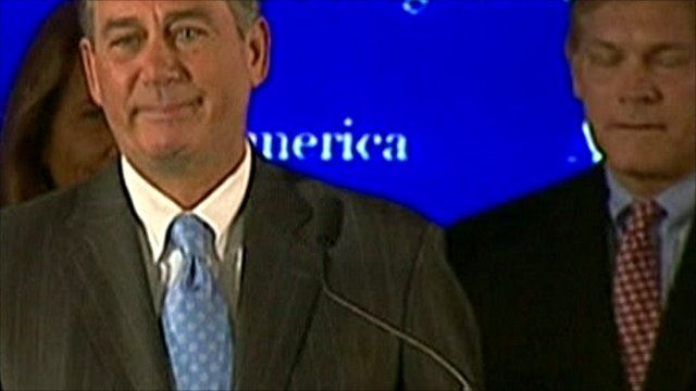 John Boehner (left)