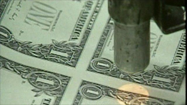 Printing dollar bills