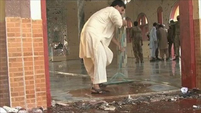 Pakistan mosque blast